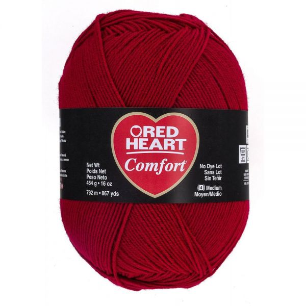 Red Heart Comfort Yarn - Cardinal Red