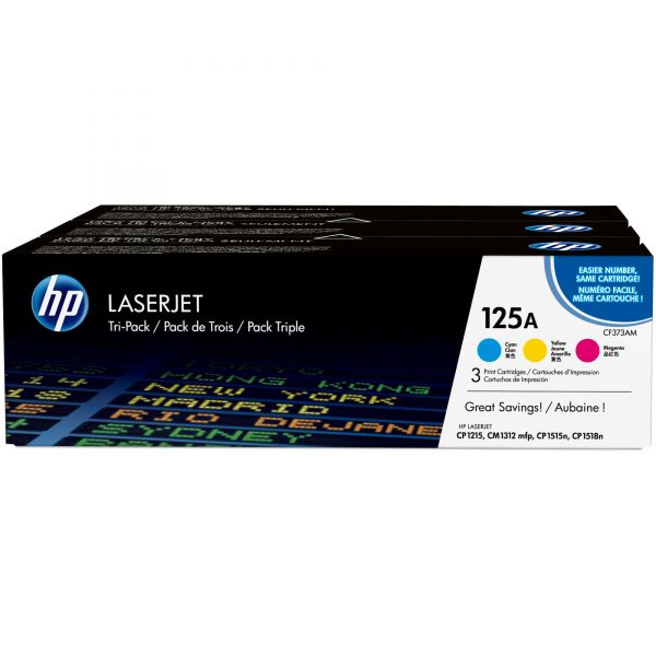 HP 125A Color Toner Cartridges (CE259A)