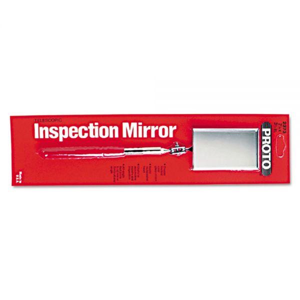 "PROTO Inspection Mirror, 2 1/8"" x 3 1/2"", Rectangular"