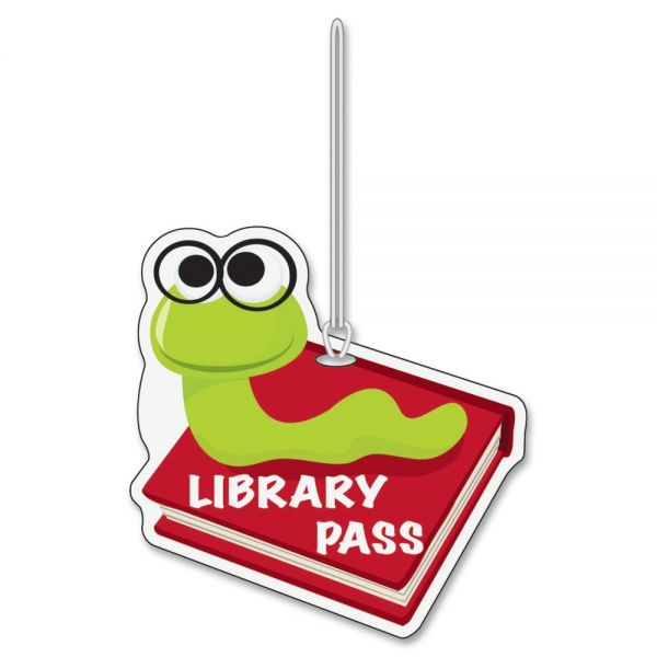 Ashley Bookworm Design Library Pass