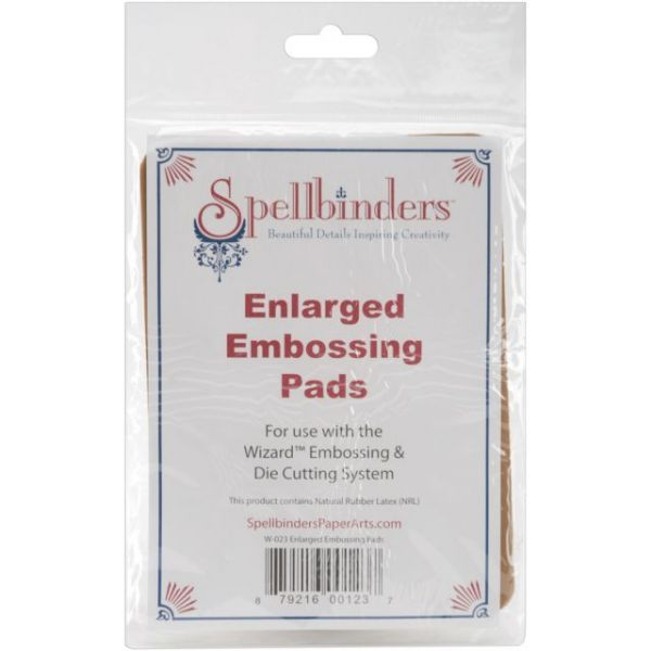 "Spellbinders Enlarged Embossing Pads 5""X7"" 2/Pkg"