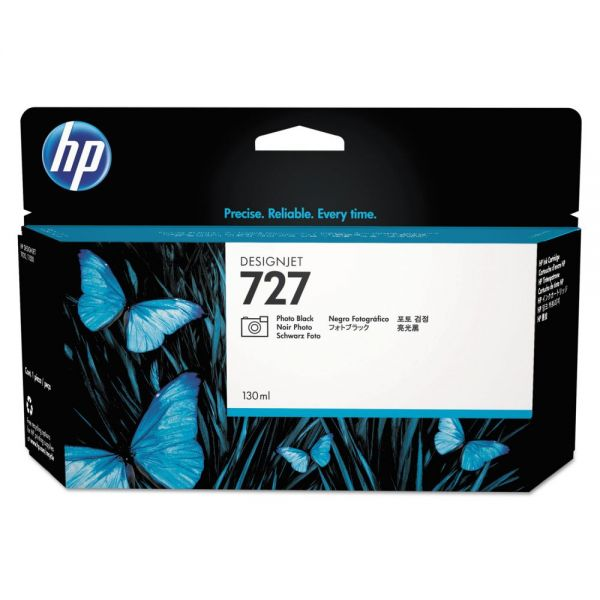 HP 727 Photo Black Ink Cartridge (B3P23A)