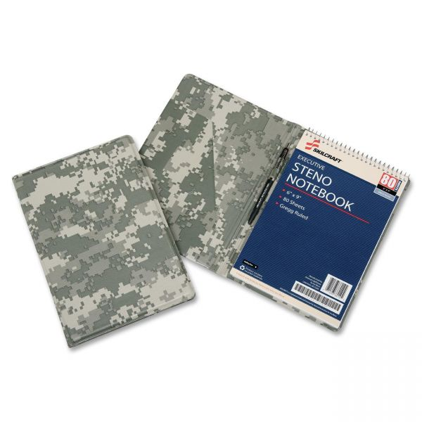 SKILCRAFT Steno Notebook Vinyl Pad Holder