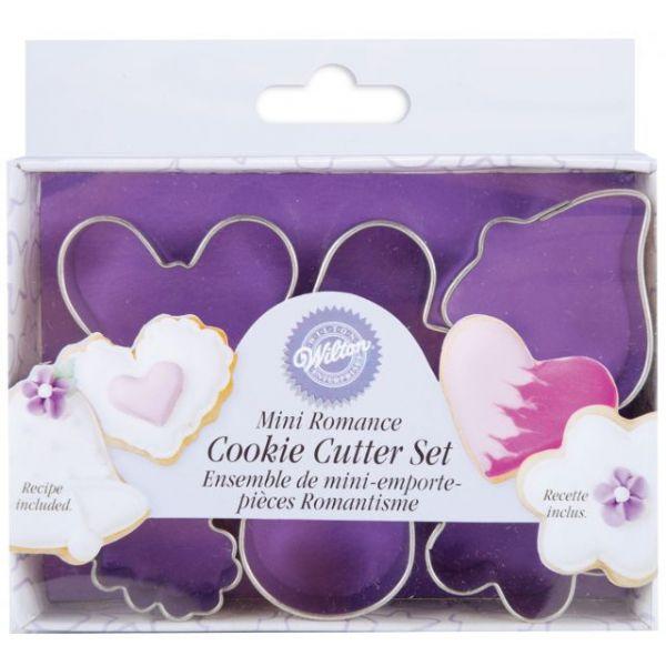 Mini Metal Cookie Cutter Set 6/Pkg