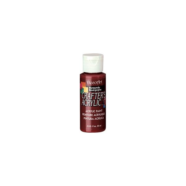 Deco Art Burgundy Crafter's Acrylic Paint