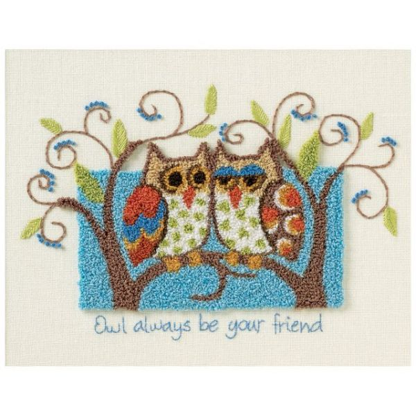 Owl Always Be Your Friend Punch Needle Kit