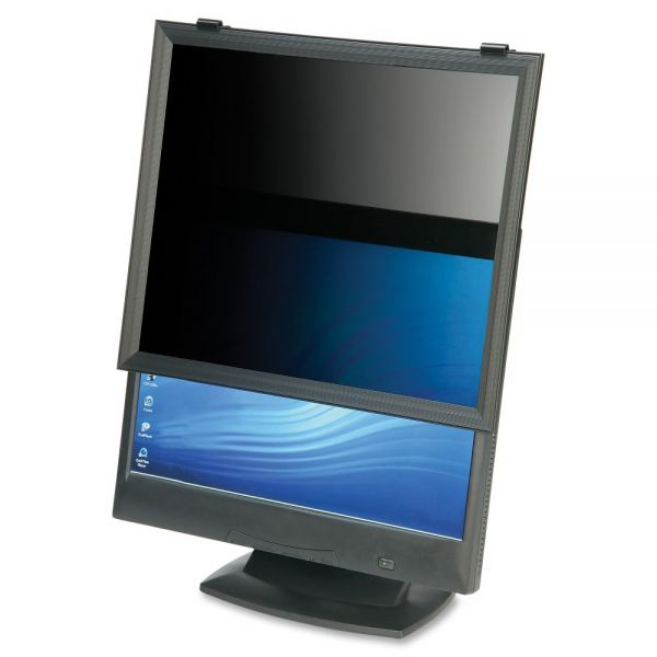SKILCRAFT LCD Monitor Framed Privacy Filter Black