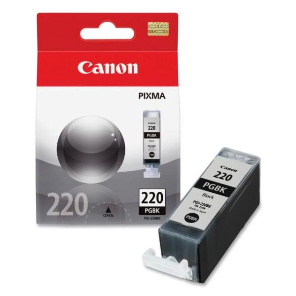 Canon PGI-220BK Black Ink Cartridge (2945B001)