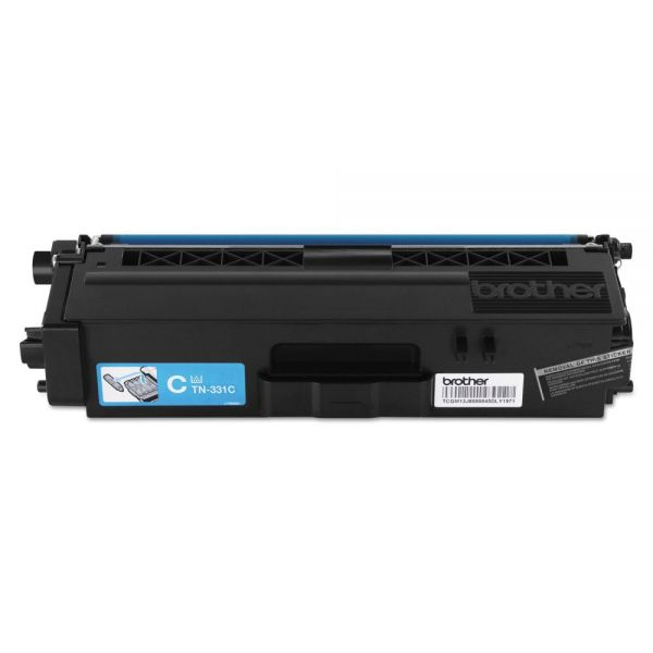 Brother TN-331C Cyan Toner Cartridge