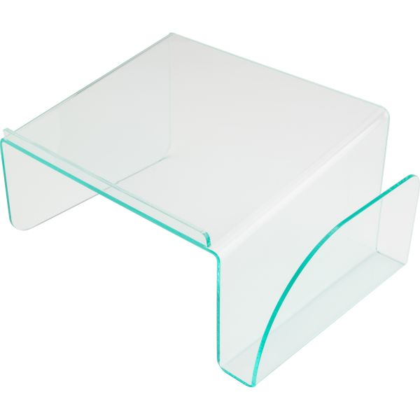 Lorell Acrylic Transparent Green Edge Phone Stand