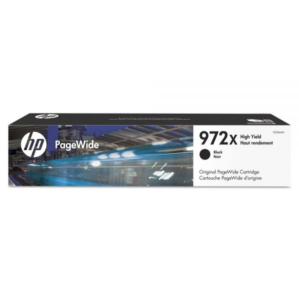 HP 972X High-Yield Black Ink Cartridge (F6T84AN)