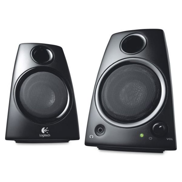 Logitech Z130 2.0 Speaker System - 5 W RMSPlacement: Desktop - Black