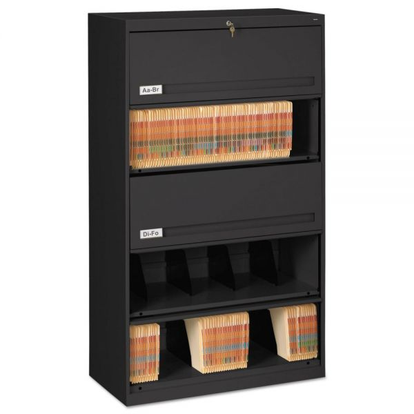 Tennsco 5 Drawer Lateral File Cabinet