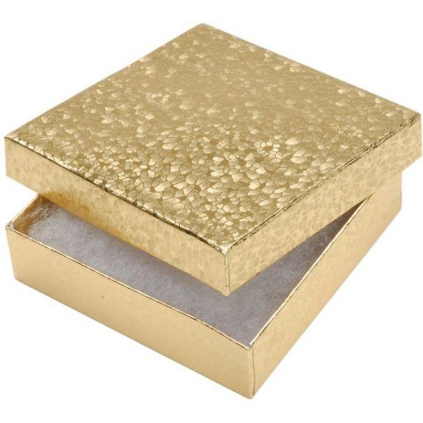 "Jewelry Boxes 3.5""X3.5""X.875"" 6/Pkg"