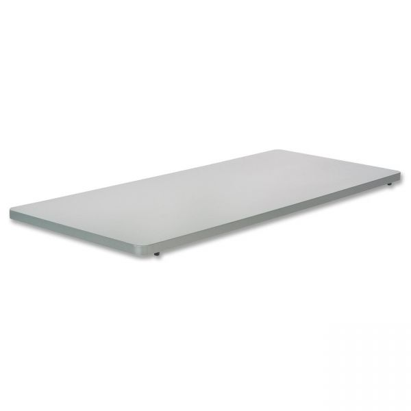 Safco Impromptu Series Mobile Training Table Top, Rectangular, 48w x 24d, Gray