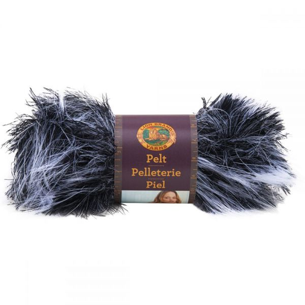 Lion Brand Pelt Yarn - Chinchilla
