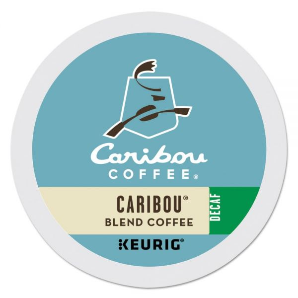 Caribou Coffee Caribou Blend Decaf Coffee K-Cups
