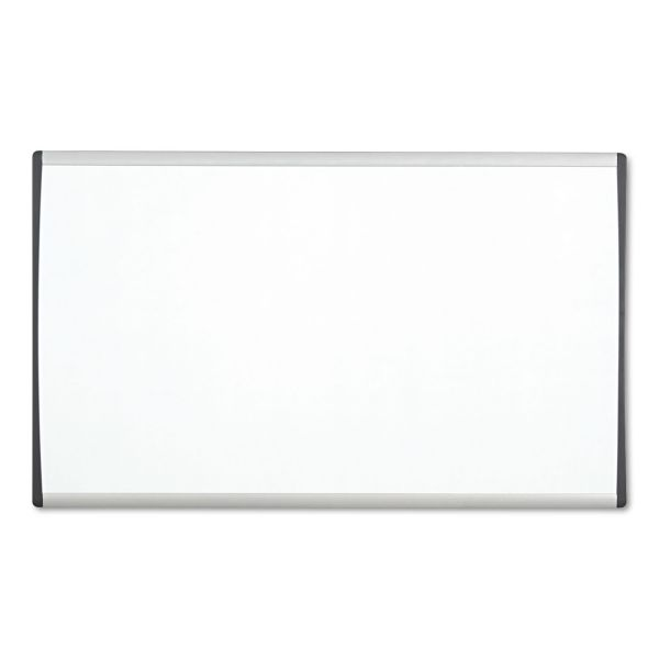 Quartet Magnetic Dry-Erase Board With Adjustable Clips