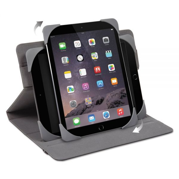 "Targus Fit-N-Grip Universal 360 Case for 9"" and 10"" Tablets, Black"
