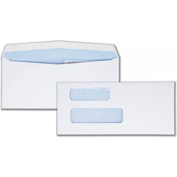 Quality Park Double Window Envelopes