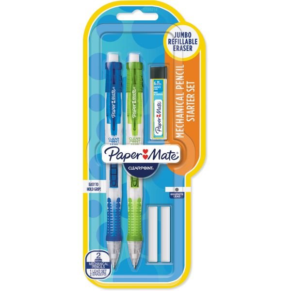 Paper Mate ClearPoint 0.9 Mechanical Pencils