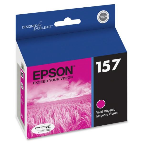 Epson UltraChrome K3 157 Magenta Ink Cartridge (T157320)