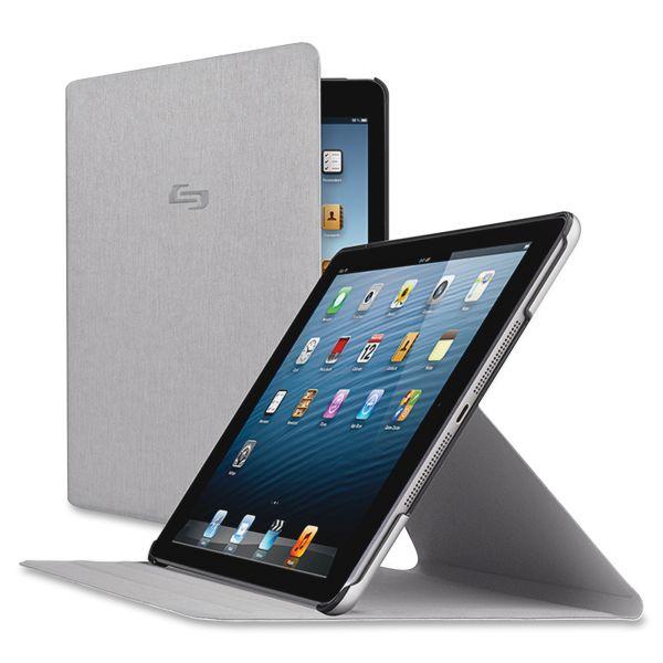 Solo Millennia Slim Case for iPad Air, Gray