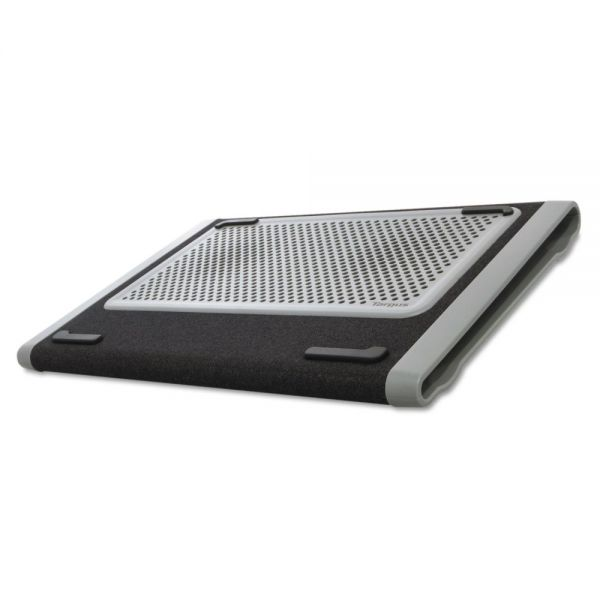Targus Dual Fan Chill Mat, 9 1/4 x 13 1/4 x 1, Gray/Black