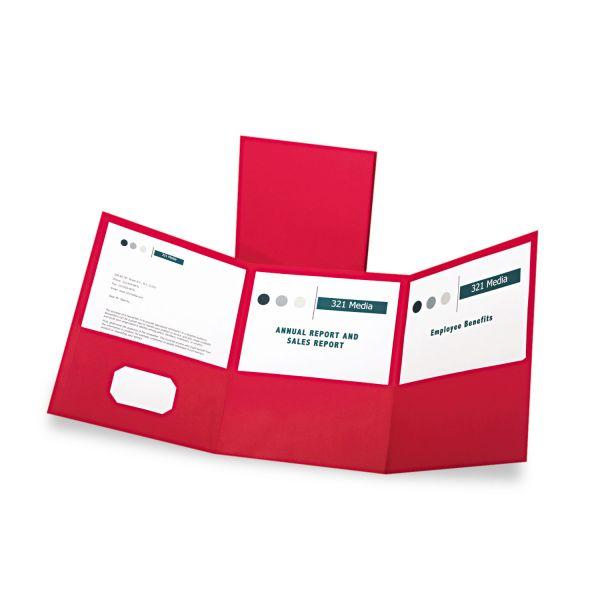 Oxford Tri-Fold Pocket Folders