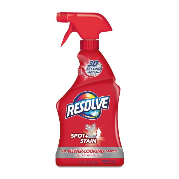 RESOLVE Triple Oxi Advanced Trigger Carpet Cleaner, 22oz Bottle