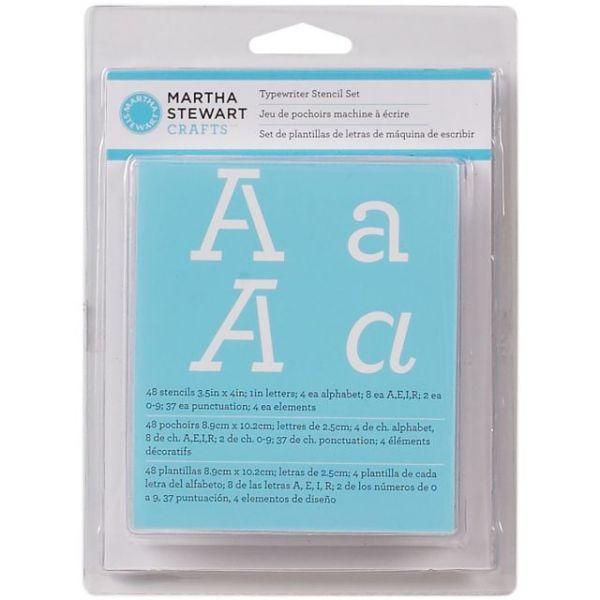 Martha Stewart Alphabet Stencils 48/Pkg