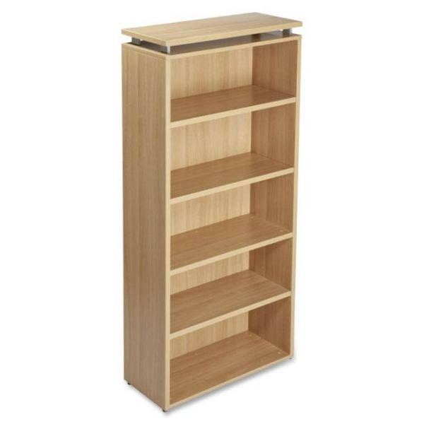 Lorell Concordia Series 5-Shelf Bookcase