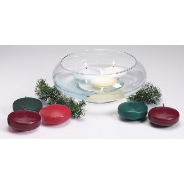 Unscented Floating Candle Disk 3""