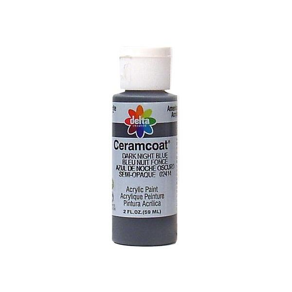 Ceramcoat Dark Night Blue Acrylic Paint