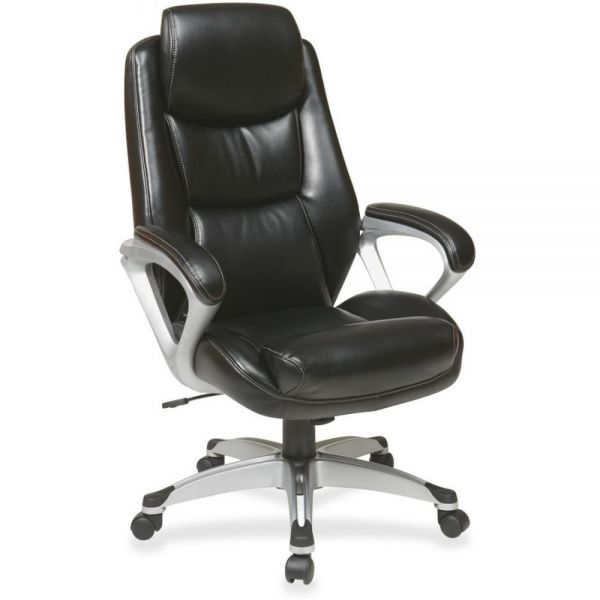 Lorell Executive Leather High-back Office Chair