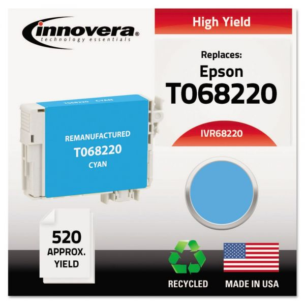Innovera Remanufactured Epson T068220 High-Yield Ink Cartridge
