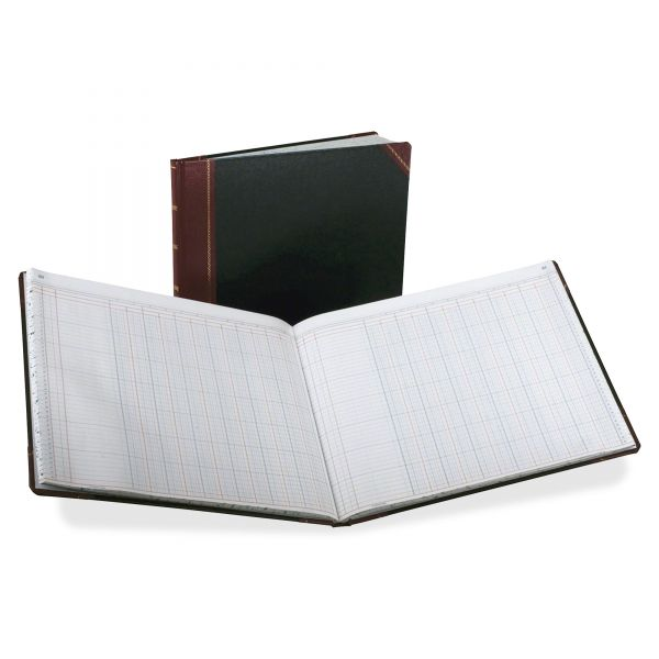 Boorum & Pease 12 Column Ledger Book