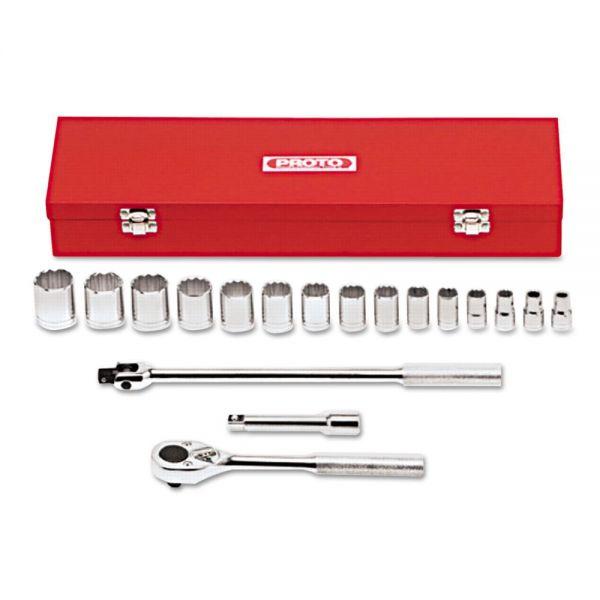 Proto 18-Piece Mechanic's Tool Set