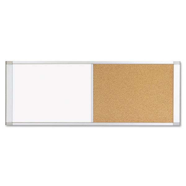MasterVision Combo Cubicle Dry Erase/Cork Board