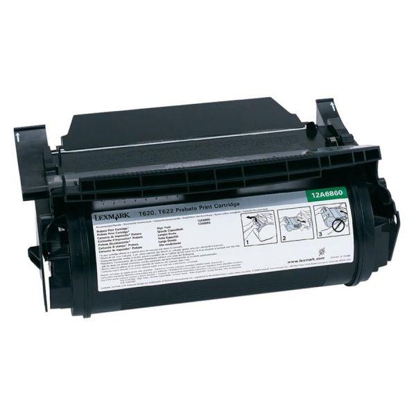Lexmark 12A6860 Black Return Program Toner Cartridge