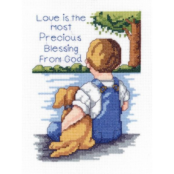 Precious Blessing Mini Counted Cross Stitch Kit