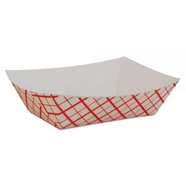 SCT 1/2 lb Paper Food Baskets