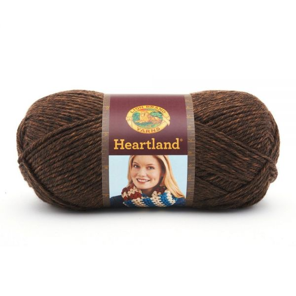 Lion Brand Heartland Yarn - Sequoia