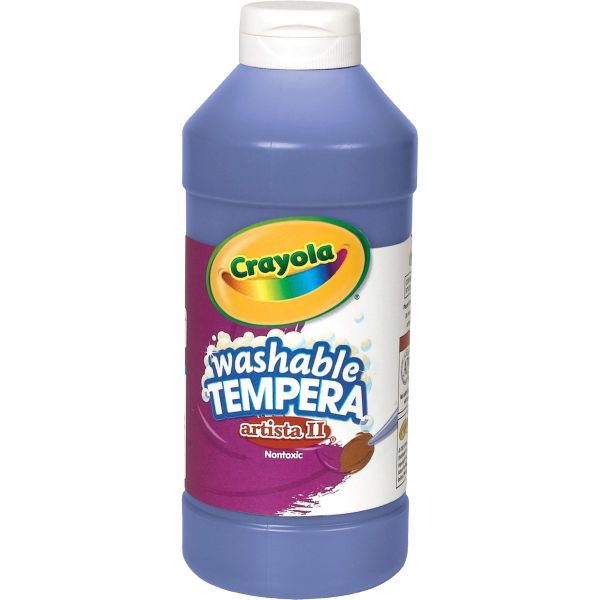 Crayola Artista II Washable Tempera Paint