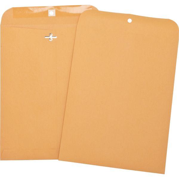 Business Source Heavy Duty Gummed Clasp Envelopes