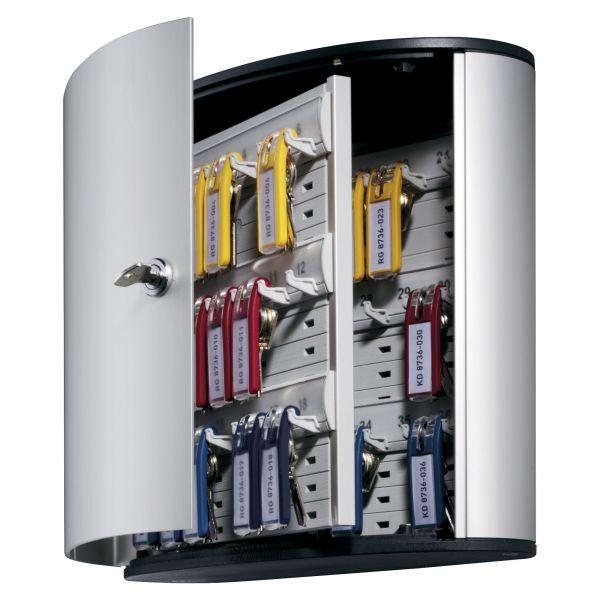 DURABLE 36 Key Brushed Aluminum Cabinet