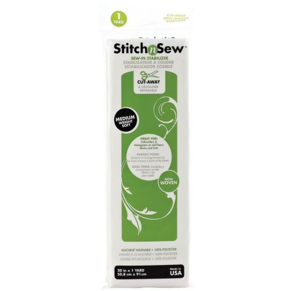 Stitch'n Sew Cut-Away Stabilizer