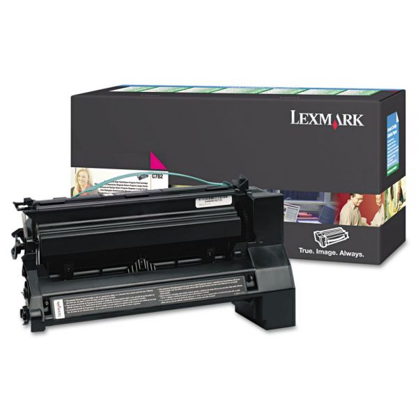 Lexmark C782X4MG Magenta Extra High Yield Return Program Toner Cartridge