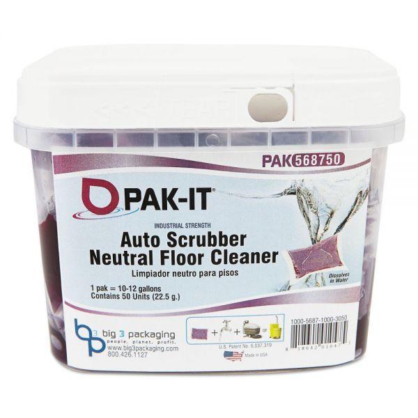 PAK-IT Auto-Scrubber Neutral Floor Cleaner
