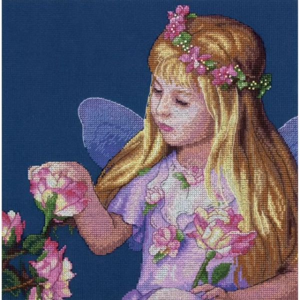 Rose Fairy Counted Cross Stitch Kit